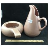 Russel Wright Pitcher & Handled Dish
