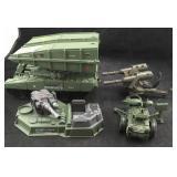 4 Military Items- One is Marked GI Joe