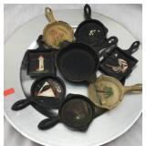 Miniature Decorative Cast Iron Pans