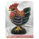 Hand Carved & Hand Painted Wooden Rooster