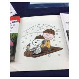 Signed and Numbered Charlie and Snoopy