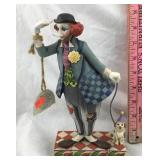 Jim Shore Clown with Dog Figurine