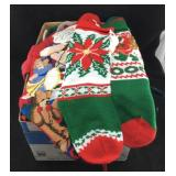 Box with 17 Christmas Stockings