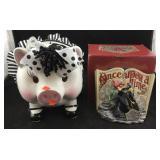 Ceramic Piggy Bank and Disney Undersea Dreaming