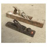 Two Antique Wooden Planes