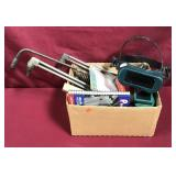 Box With Assorted Welding Items