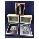 Group of 9 Newer Large & Small Shadow Boxes