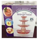 New Electric Beverage Fountain by Rival