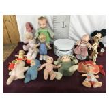 Vintage Dolls Assorted, Minnie Mouse, Style Kit