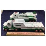 Two Hess Trucks- Gasoline And Space Shuttle