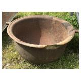 Antique Iron Cauldron