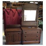 Antique Eastlake Bedroom Set