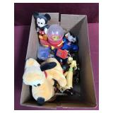 Lot Of Small Toys- Many Are Disney Characters