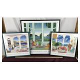 Set of Three Thomas McKnight Prints
