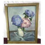 Vintage Hand Painted Original by Martha Mosley