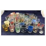50+ Vintage Souvenir Shot Glasses