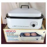 Slightly Used 18 Quart Roaster Oven by Nesco