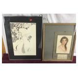 Antique Calendar Framed, Print My Nancy Caravan