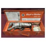 Heavy Duty Sabre Saw By Black and Decker