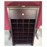 Nice Wine Rack Shelf Cabinet