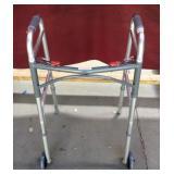New Walker, Adjustable Side, Collapsible
