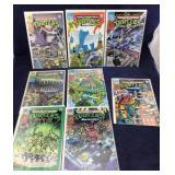 8 Teenage Mutant Ninja Turtle Comic Books
