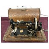 Antique Hand Driven Minnesota Sewing Machine