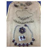 Rare Vntg Coro & Sarah Cov & Unknown Jewelry Sets