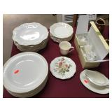 Lenox Different Patterns Same Color Dinnerware
