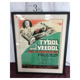 Advertising Poster, Tydol and Veedol