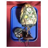 Tiffany Style Stained Glass Hanging Light Fixture