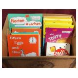 A Box With Dr. Seuss And Other Children