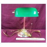 Working Bankers Style Desk Lamp
