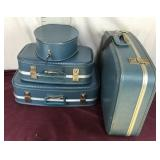 Vintage Four Piece Luggage Set
