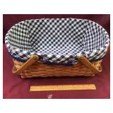 Large Longaberger with handles and liner
