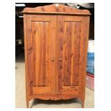 Antique Solid Cedar Armoire