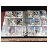 Binder of 450 1973 Baseball Cards