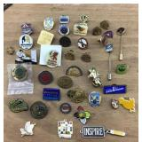 Collection of Souvenir/Professional Hat/Lapel Pins