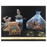 Native American Handmade Ceramic Pieces & More