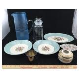 Vintage Hand Painted Dishes, Nippon & Oneida