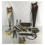 Crate of Tools, Handsaws