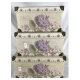 Set of 3 Stackable Boxes