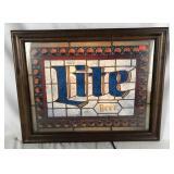 Light Up Miller Lite Beer Sign