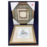 Pair of Gold Framed Pictures