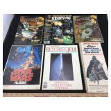Vintage Star Trek, Star Wars & Ghostbusters Books