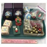 Collection of Christmas Ornaments & Accessories