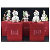 Lenox Very Merry Porcelain Ornaments