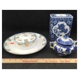 Nippon China, Willow Blue Piece & More