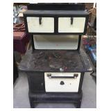 Antique 6 Burner Cast Iron Stove
