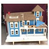 Large Vintage Doll House